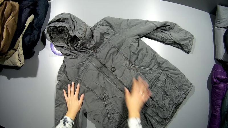 СЕКОНД ХЕНД Артикул С 235. Упаковка № 7. Куртки ж/м зима. Страна Англия.