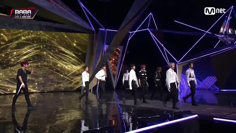 181214 • Wanna One - Beautiful • Mnet Asian Music Awards in Hong Kong