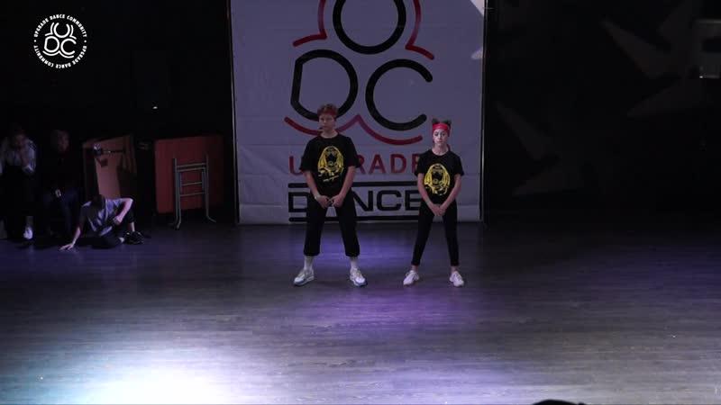 Best Dance Duo Beginners Савельев Даня и Китина Лера