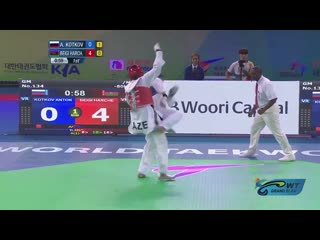 Highlights of the best Taekwondo Players - Anton KOTKOV