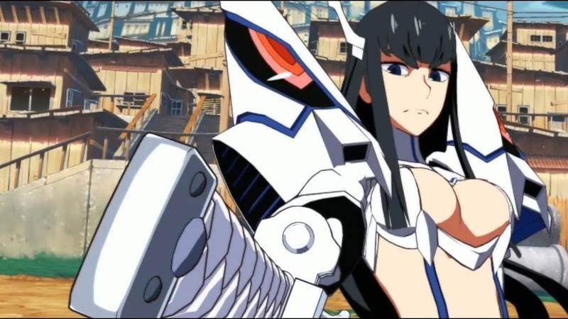 Kill la Kill The Game: IF - First PS4 Gameplay 3 (Ryuko Matoi vs Satsuki Kiryuin)