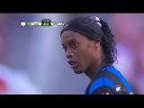 Ronaldinho vs Chivas Guadalajara • HD 720p (21-09-2014) - Chivas vs Queretaro 1-4 HD