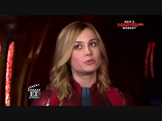 Captain Marvel Brie Larson on What Made Her Emotional