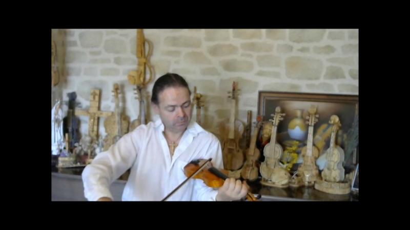 Lhymne national de lUkraine au violon pochette