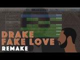 Making a Beat Drake - Fake Love (Remake)