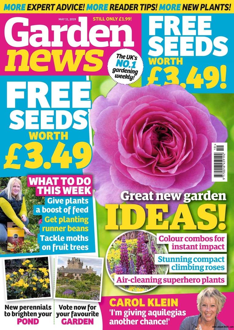 Garden News - 18 May 2019