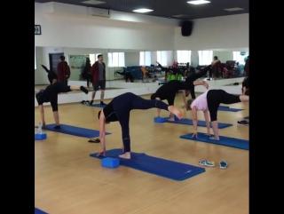 Утренняя☀🙏 йога в «Прайм Фитнес» – лучшее начало вашего дня!👍 #липецк #праймфитнес #город48 #липецк #спортлипецк #мотивация #зож