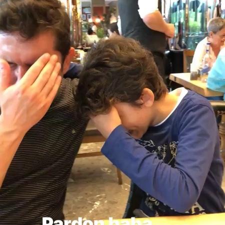 """Ykyyazici on Instagram """"Pardon baba ben sadece öpecektim 🤷♂️😘 babalar günün kutlu olsun @ygtyzc babalargününkutluolsun"""""""