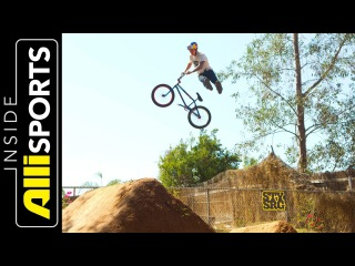 Corey Bohan, Anthony Napolitan, TJ Ellis + Brandon Dosch on BMX Dirt   Inside Alli Sports