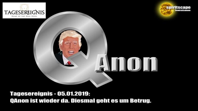 Tagesereignis - QAnon ist wieder da. Diesmal geht es um Betrug.