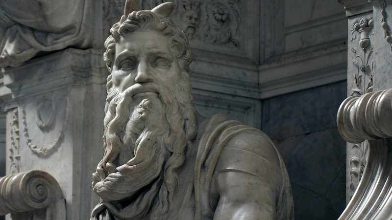 Michelangelo, Moses, and the Tomb of Pope Julius II