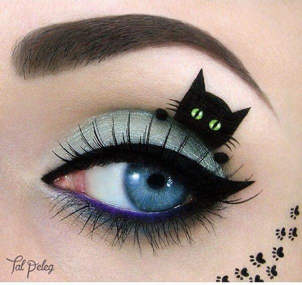 Необычный макияж. Идеи для вдохновения…. (6 фото)