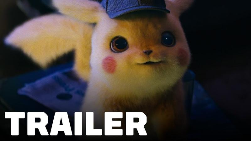 Pokémon Detective Pikachu Trailer (2019) Ryan Reynolds, Justice Smith, Ken Watanabe