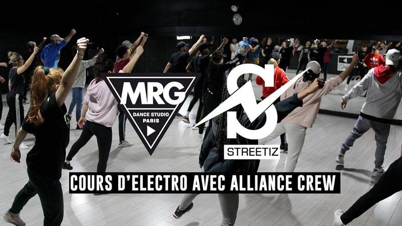 Streetiz - Cours délectro avec Alliance Crew ⚡ (Studio MRG Paris)