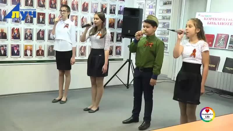 Ветераны НГДУ «Джалильнефть» встретились со школьниками