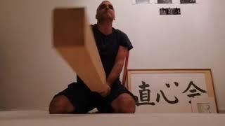 Suburi exercise in seiza