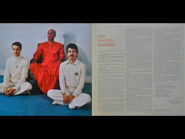 Carlos Santana Mahavishnu John McLaughlin - Love Devotion Surrender 1973 (Full Album vinyl)