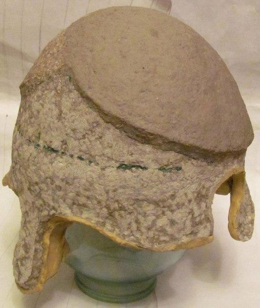 Как сделать рыцарский шлем папье-маше