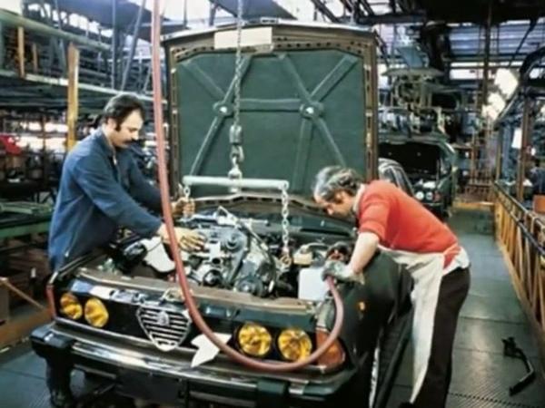Tributo stabilimento Alfa Romeo Arese