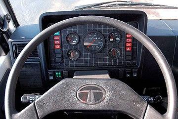 Tata LPT 613/38, тест-драйв