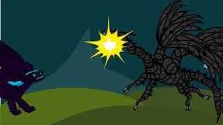 Рисуем мультфильмы 2: Битва драконов — Беззубик против Чёрного Дракона!