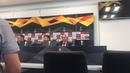 М Каррера пресс конференция перед игрой в ЛЕ