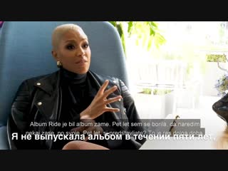 Loreen talks about her third album while being in Slovenia