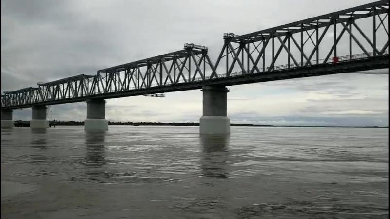 Желензо дорожный мостовой переход через реку Амур Тун цзян- Нижнеленинское