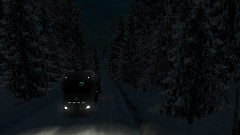 DOLBANATOR 174: Euro Truck Simulator 2 - Суровая Россия «Байкал» R20. Магадан-Анадырь. 1