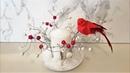 УКРАШАЕМ СВЕЧУ candle decoration tutorial