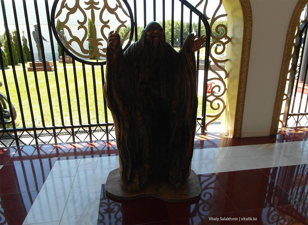 Деревянная скулптура, Рух Ордо 2018