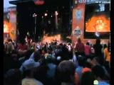 Рок над Волгой 2013 Выступление группы Rammstein ( неполное видео:отрывки)