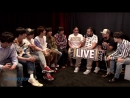180520 BTS The Morning Mess BBMA Interview 5 19 18 @ LIVE 101 5 Phoenix