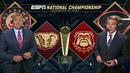 NCAAF 2017 CFP 2017 CFP National Championship Alabama vs Georgia
