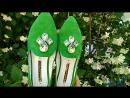 Зеленые балетки Modus Vivendi с камнями ждут тебя арт 248021, цена - 2298 грн