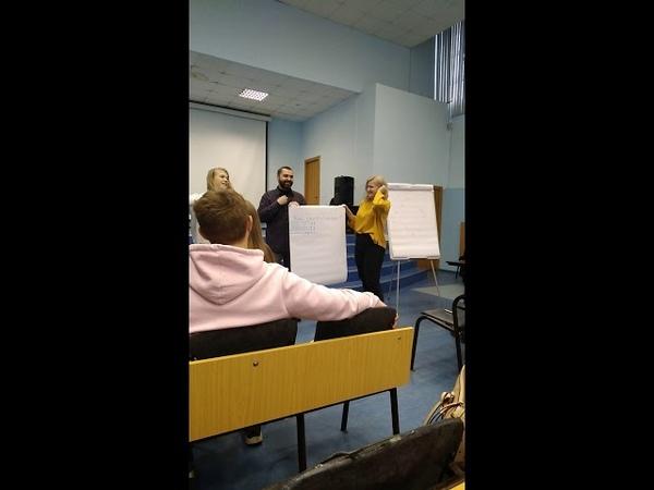 Навык презентации социальных проектов.