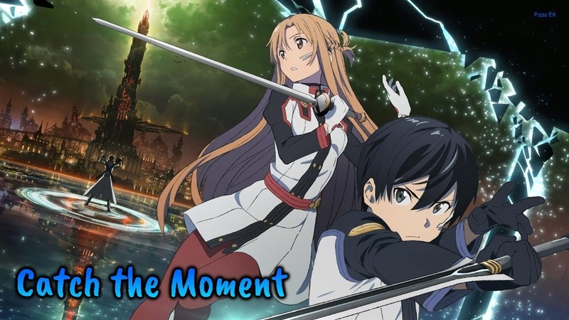 『Lyrics AMV』SAO Movie -Ordinal Scale- Theme Song - Catch The Moment / LiSA