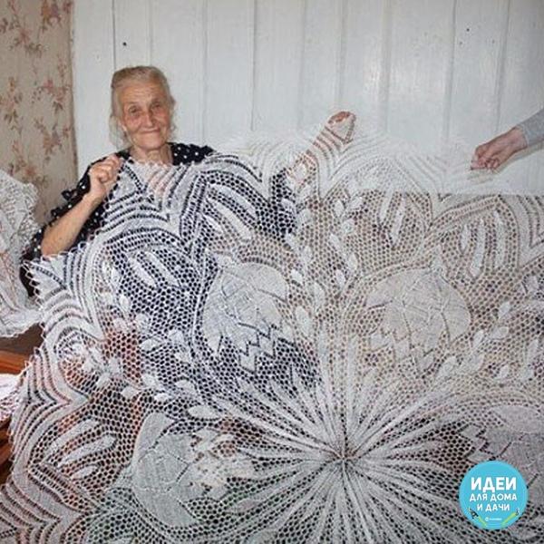 бабушка-рукодельница посмотрим, сколько наберет