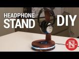 DIY Headphone Stand with USB lights