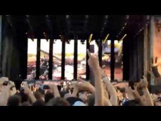 Metallica Intro & Battery (Стивенейдж, Англия 2014)
