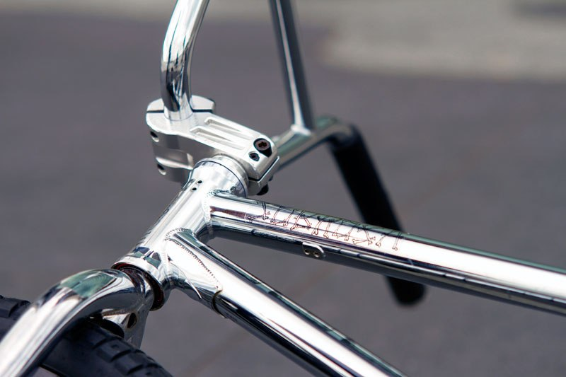 Nick Bullen bikecheck frame and fork