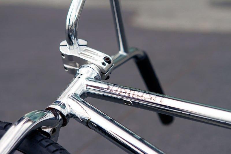 Nick Bullen bikecheck frame and fork