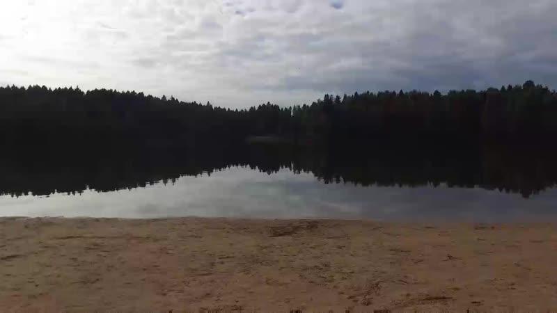 Лесное озеро в Сергиевом Посаде