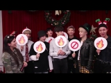 171211 BTS play Holiday Hot or Not @ Radio Disney