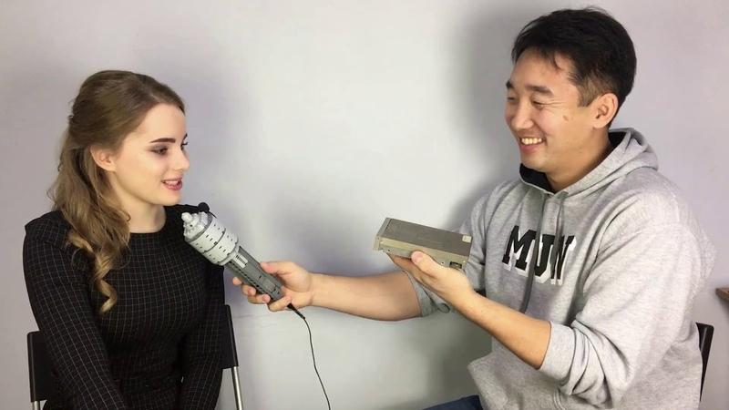 Захарова Анастасия - интервью с призером региональных соревнований по робототехнике и активистом ЦРР