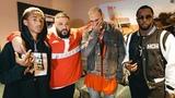 Chris Brown, Jaden Smith, Diddy at DJ Khaled x Demi Lovato Tour LA