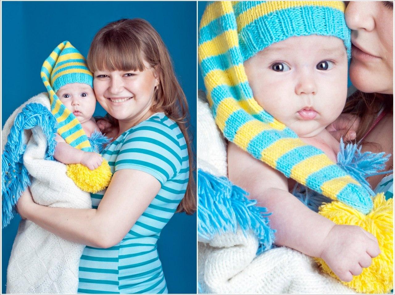 Идеи по фото ребенка по месяцам