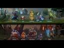 Dota 2: Captains Mode COMEBACK Megacreeps 2 часа 47 минут пота Troll Warlord
