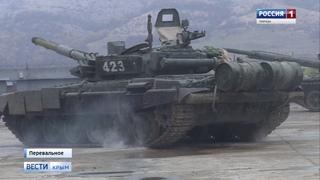Танкисты Черноморского Флота готовятся к зиме (эксклюзив)