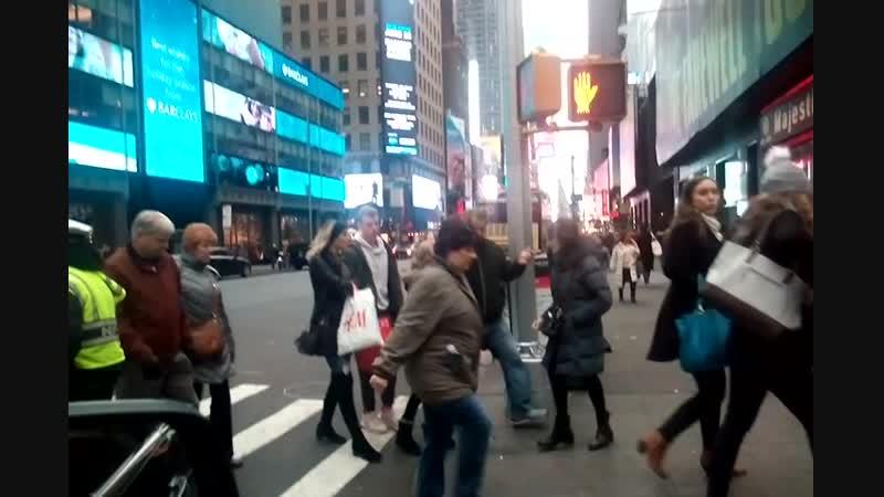 PASEANDO POR NUEVA YORK